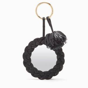 Ulla Johnson Ami Pocket Mirror Keychain